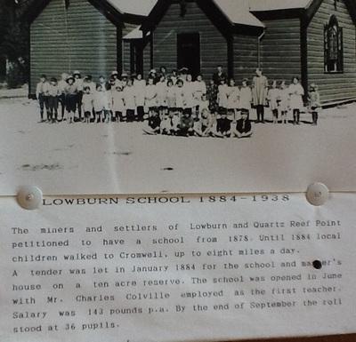 Lowburn Ferry School 1884