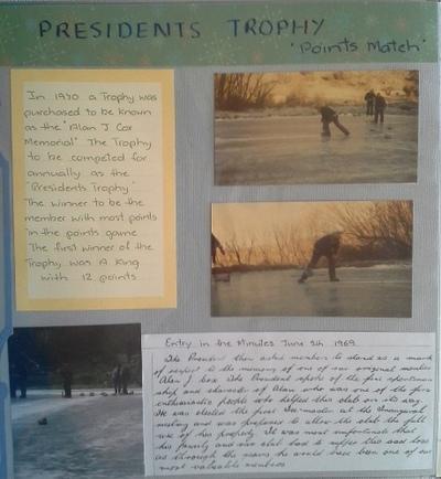 Lowburn Curling Club 6 Presidents Trophy