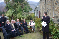 IMG 3190 Helen Clark speaks at the Old Church.