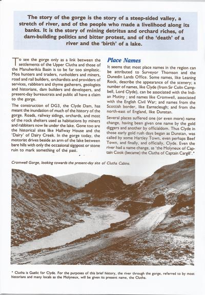 The Cromwell Gorge-pg1